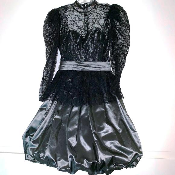 3da79466cbf16 Cha Chez Dresses | Vintage 80s Party Dress Lace | Poshmark